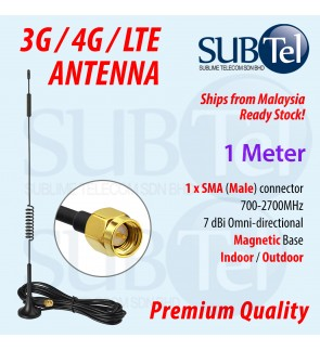 3G 4G LTE High Gain Antenna with SMA Male connector Indoor Outdoor Omni-Directional WiFi Wireless Omni Antenna